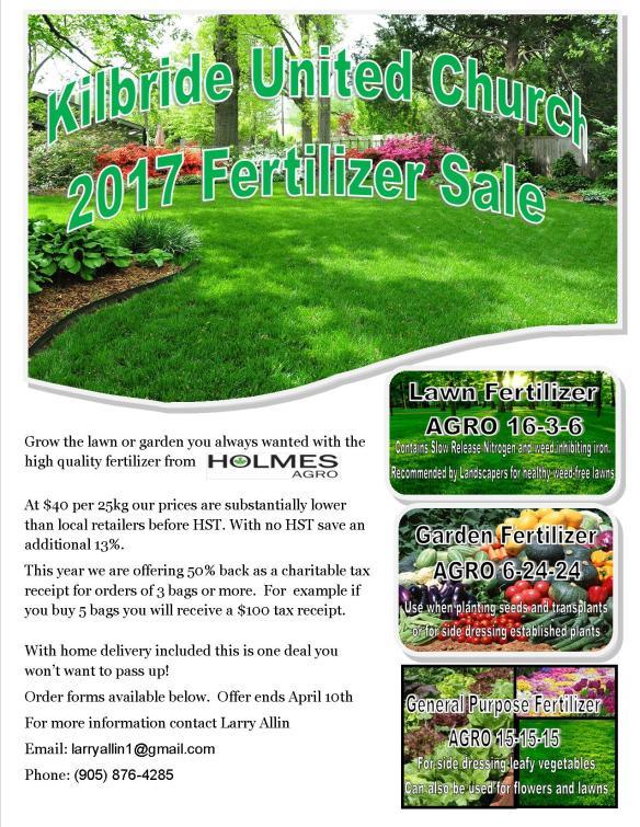 Fertilizer Flyer 2017