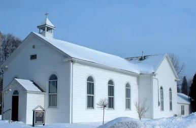 Kilbride Church in winter